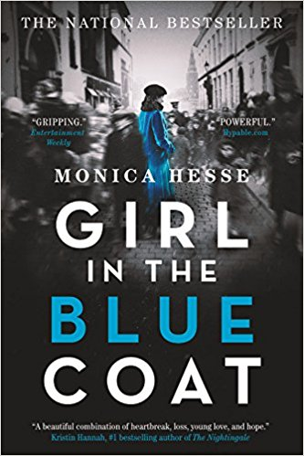 Book cover of 'Girl in the Blue Coat'