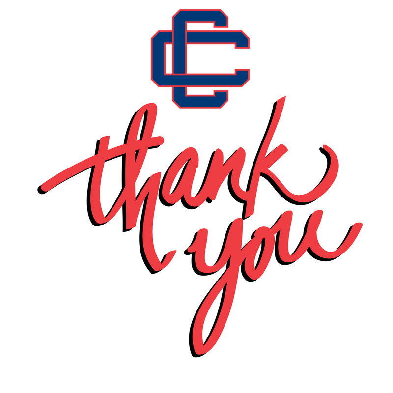 Central Cathiolic logo with Thank You script