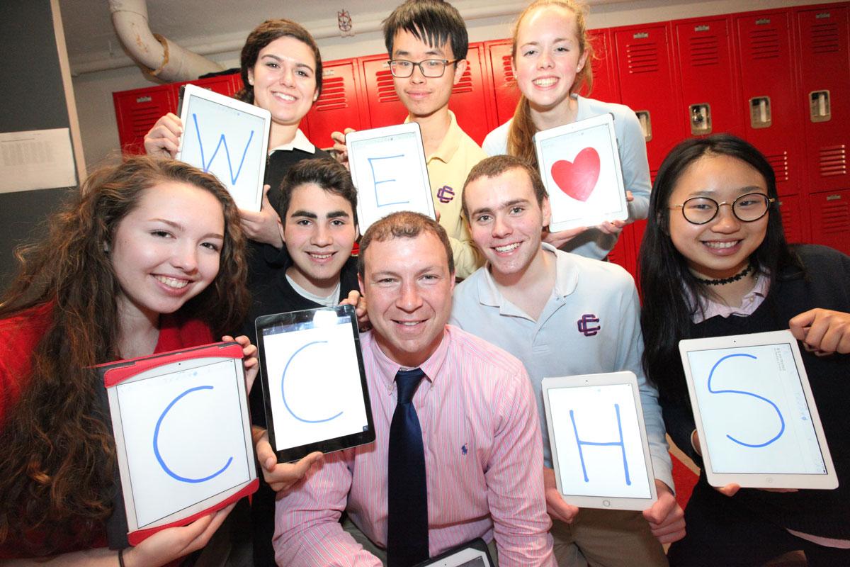 We love CCHS