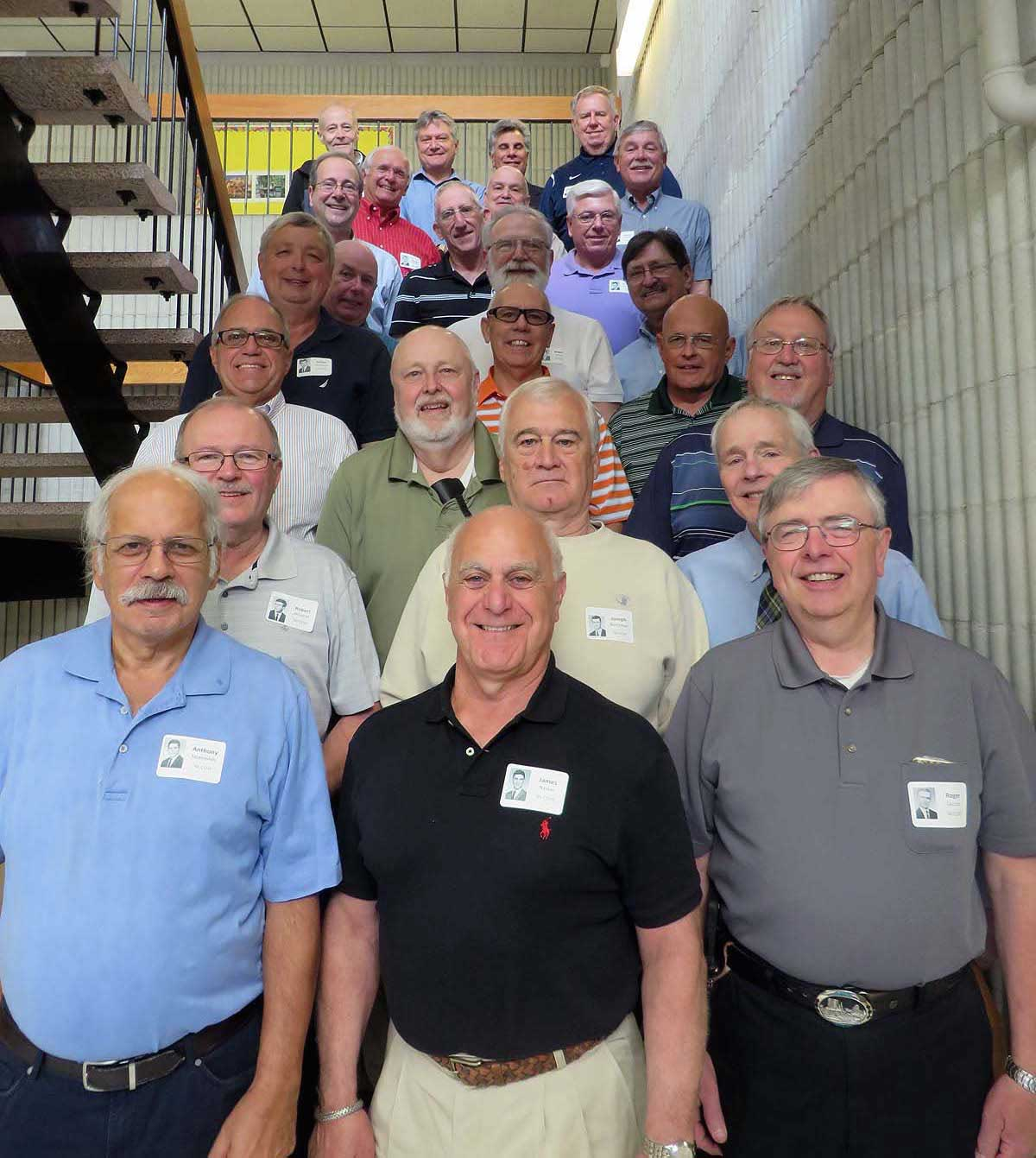 The Class of 1966 at Central Catholic