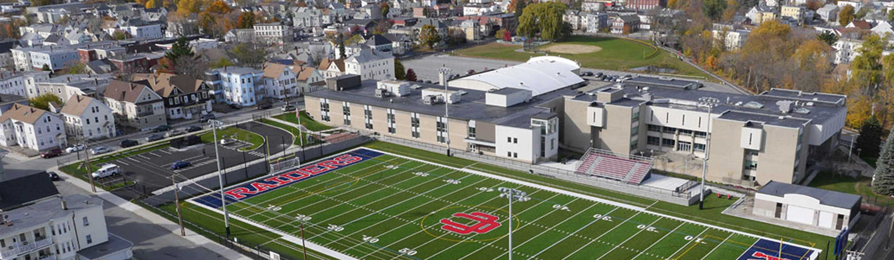 Aerial Photo of Central Catholic High School