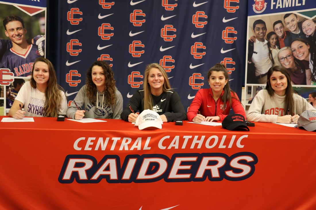 Girls Soccer Stand-Outs Sign Collegiate Letters of Intent