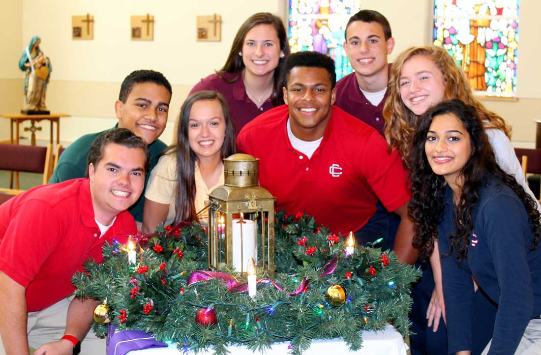 Celebrating Advent & the Christmas Season at Central Catholic