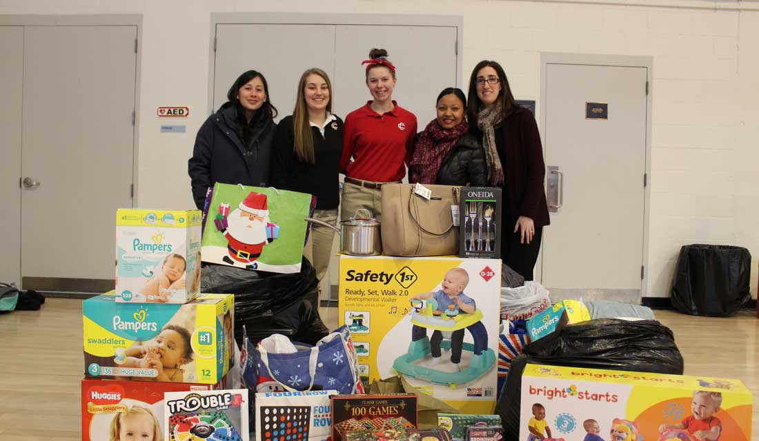 The CCHS Christmas Project Provides Gifts for 48 Families in Need