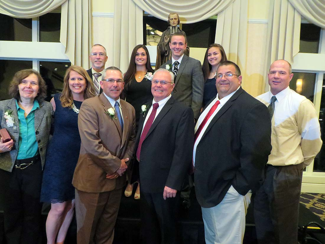 The 2015 Athletic Hall of Fame Induction Class