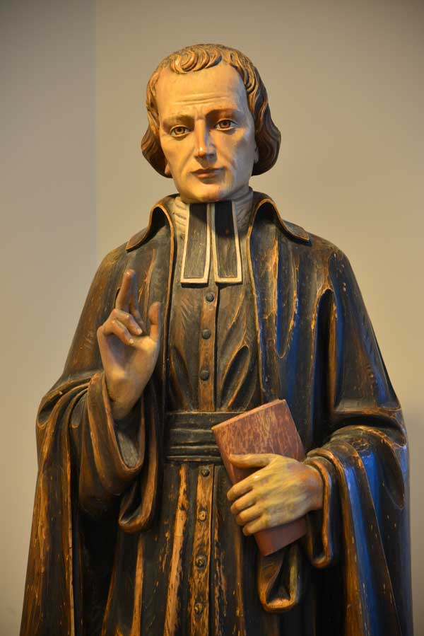 Statue of Saint Marcellin Champagnat