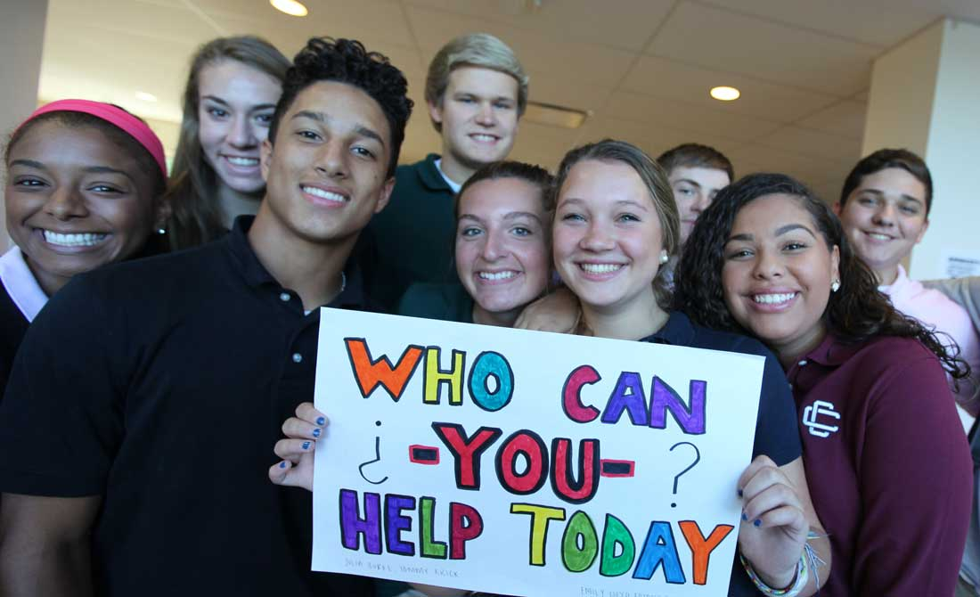 Whom can you help today?